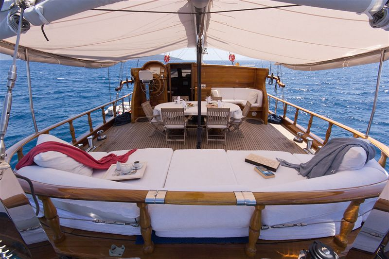 4 cabins luxury Gulet for rent Gocek