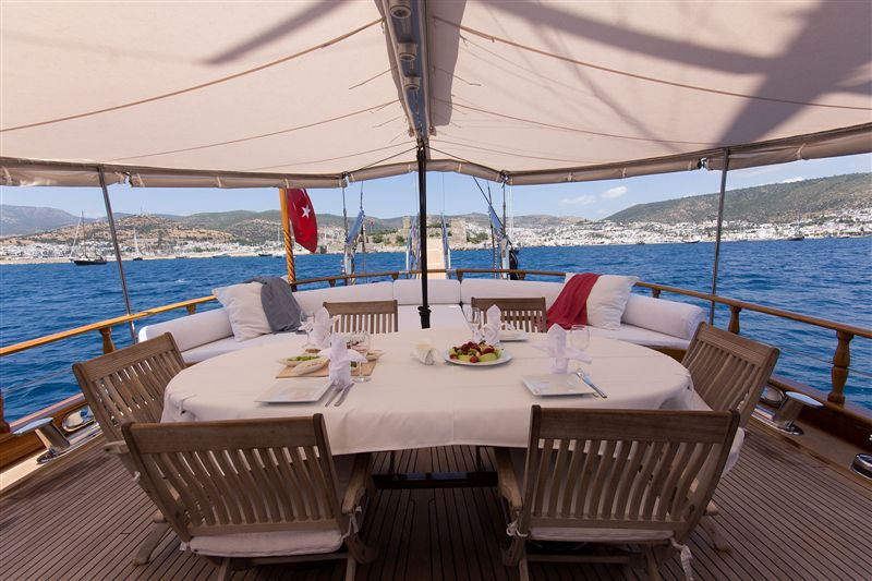 4 cabins luxury Gulet for rent Fethiye