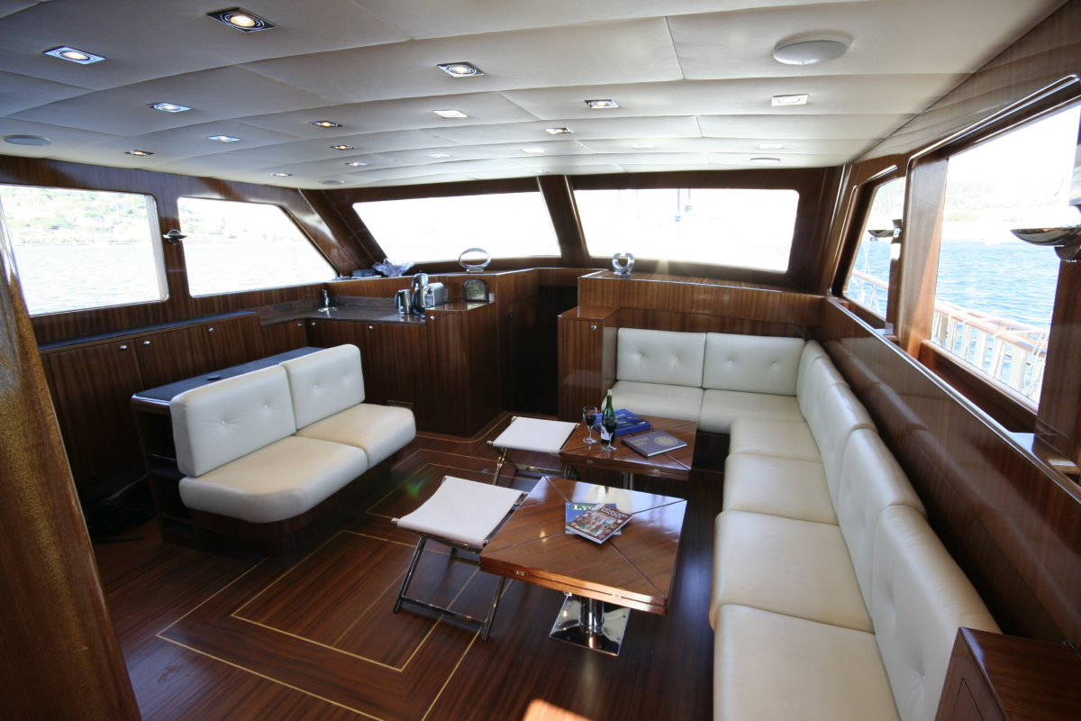 Luxury yacht Didi for rent Bodrum