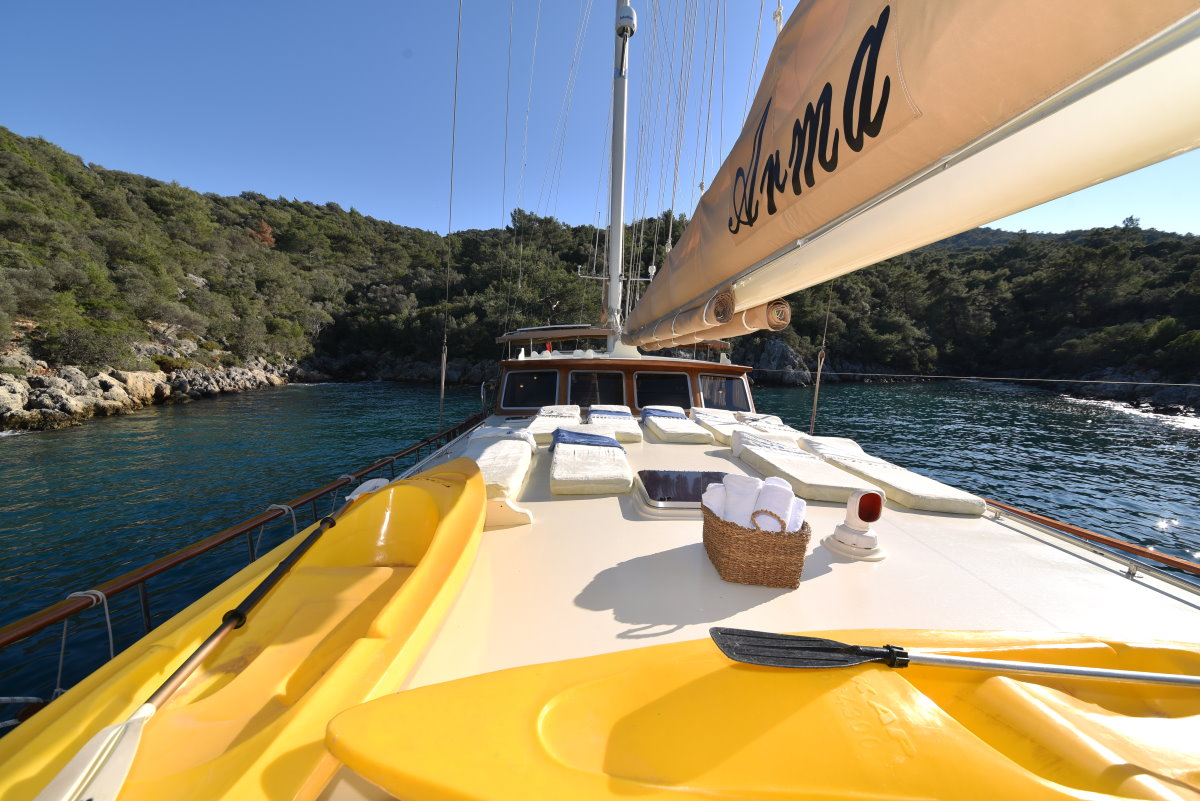 Gulet cruising Turkey