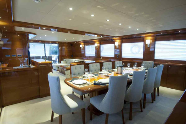 luxury sail charter