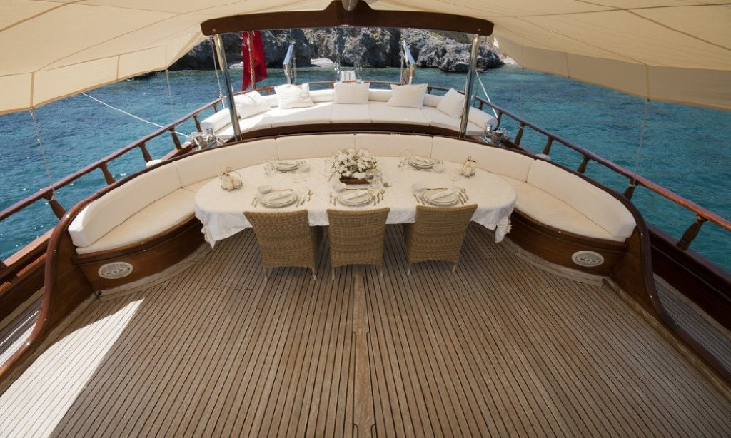 Luxury Gulet charter for rent Gocek