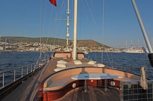 Luxury Gulet Cruise in turkish coast
