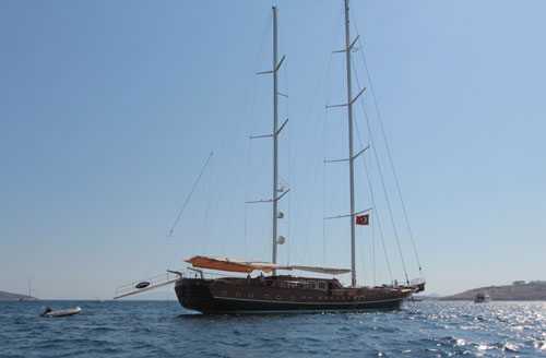 Luxury Yact charter Turkey