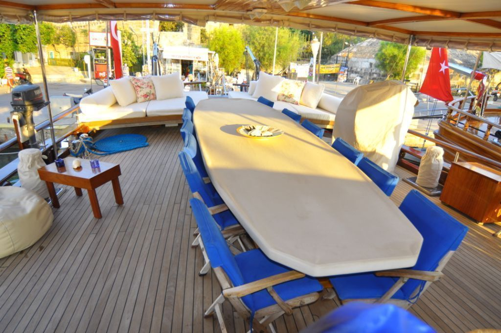 8 cabins gulet for rent Bodrum
