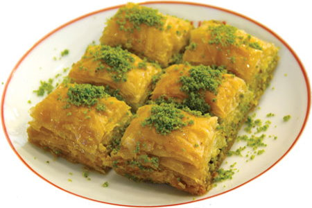 famous turkish sweet baklava