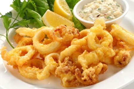 fried calamary