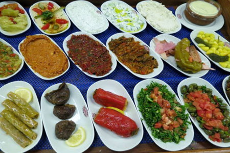 turkish mezes
